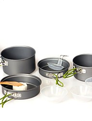 Alliage d'aluminium SET DE CUISINE gris Sets