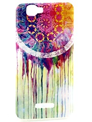 Wind Chime Pattern TPU Soft Back Cover for Wiko RAINBOW