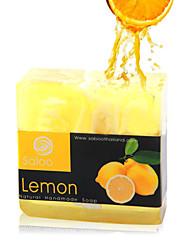 de haute qualité essence savon à l'huile de blanchiment réduire les pores de citron