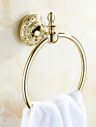 Neoclassical Ti-PVD Wall Mounted Towel Rings