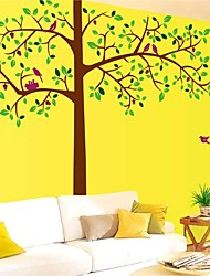 stickers muraux stickers muraux, style grands arbres muraux PVC autocollants