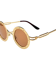 polarizadas aleación ronda gafas de sol retro