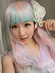 Fashion Cartoon No Capacitance High Temperature Wire Color Wig