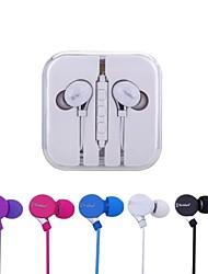 Ecouteurs (Microphone/MP3/Réglage de volume/Ecouteurs) Câblé - Pomme Dans l'oreille