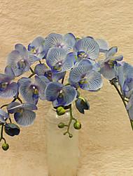 8 premier caoutchouc de simulation papillon orchid.plastic.