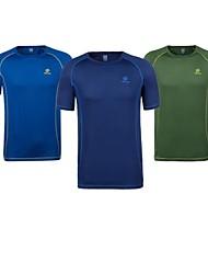 Homme Tee-shirt / Hauts/TopsCamping / Randonnée / Chasse / Escalade / Exercice & Fitness / Courses / Sport de détente / Badminton /
