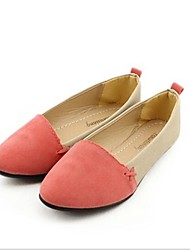 Women's Shoes Flat Heel Pointed Toe Flats Casual Blue/Green/Red