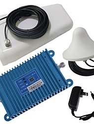Intelligence LCD Display Dual Band GSM/DCS 900/1800MHz Mobile Phone Signal Repeater Booster Amplifier + Antenna Kit