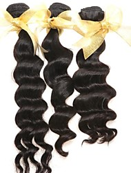 Queen Hair Product 6A Wholesal Weav Hair Indian 3pcs Indian Virgin Hair Human Hair Extens Weav