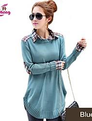 RanSheng Women's leisure/lovely elastic long sleeves