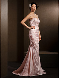 Lanting Bride® Trumpet / Mermaid Petite / Plus Sizes Wedding Dress Wedding Dresses in Color Court Train Sweetheart Taffeta