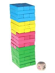 Загадка блоки дизайн деревянные строительные блоки Jenga набор игрушек для детей