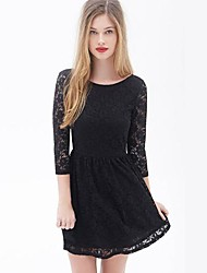 Mini - Sexy/Bodycon/Spitze TS® DRESS ( Spitzen )