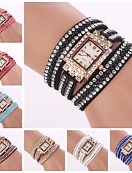 Women's Bracelet Watch Quartz Leather Band Brand