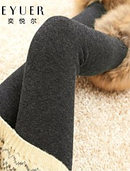 EYUER Women's Clothing 2015 new winter and cashmere thickened Alpaca tights significantly thinner outer wear jeans