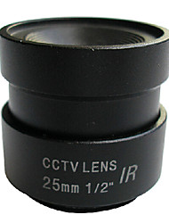 25mm CCTV Surveillance CS Camera Lens