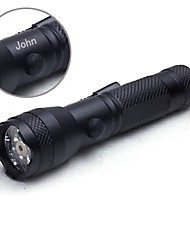 Personalized Gift LED Strong Light Engraved Flashlight