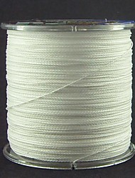 300M / 330 Yards PE Braided Line / Dyneema / Superline Fishing Line White 60LB / 70LB / 80LB 0.37mm,0.40mm,0.45mm mm ForSea Fishing / Fly