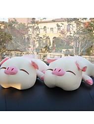 casa ambientador&coche de bambú bolso del paquete del carbón de leña (muñeca de cerdo) 2pcs