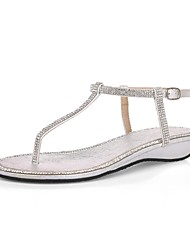 Women's Shoes Low Heel Comfort Sandals Office & Career/Dress Pink/Silver/Gold