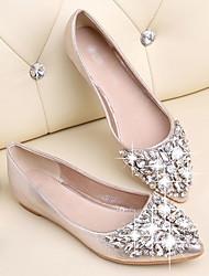charme da moda sapatos de salto plana das mulheres Hoob