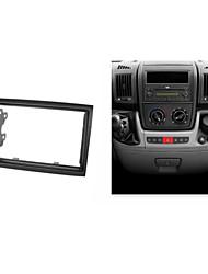 facia dvd para peugeot citroen kit de panel de instalación de ajuste fascia de radio fiat