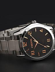 LAGMEEY® Steel Strip with Rose Gold Number Waterproof Men Quartz Watch