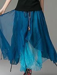 Women's Fashion Ethnic Print Skirts