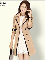 YUNTUO®Women's leisure trench coat show thin big yards 8