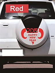 автомобильные наклейки с 2015 счастливого нового года автомобиль вводя в моду