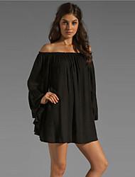 Morefeel Women's European Chiffon Loose Dress