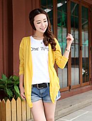 Women's Colorful Casual Long Sleeve Long Blouse (Chiffon)