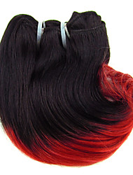 Cheap Price Sale Brazilian Virgin Hair Body Wave,Color 1B/RED and Natural Black 1b ,Raw Human Hair Weaves .
