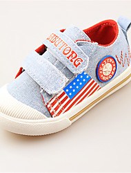 Baby Shoes Outdoor/Casual Leather Athletic Shoes Blue