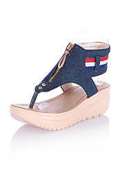 FemininoAnabela / Chanel-Anabela-Azul / Azul Marinho-Jeans-Social