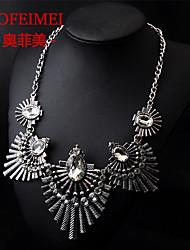 Alloy diamond necklace retro Ethnic Clothing Accessories