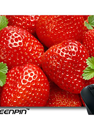 SEENPIN Personalized Fresh Delicious Fruit Red Strawberries Mouse Pads