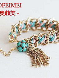 Korea Korean fashion beautiful handmade metal bracelet mixing high-end jewelry