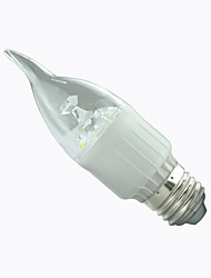 1 pcs 8A Lighting E27 3W 15xSMD2835 300LM 2800-6500K Warm White/Cool White Led Candle Bulbs AC85-265V