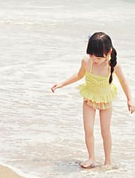Girl's Dot Swimwear