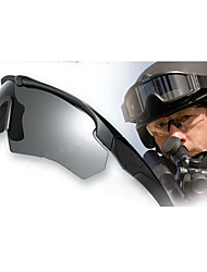 caça do exército tático óculos militares envoltório balístico