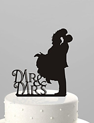 Cake Toppers Acrylic Kissing Cake Topper