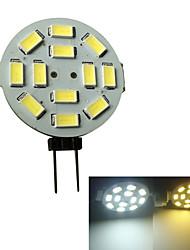 Luces de Doble Pin G4 3 W 12 SMD 5730 250-270LM LM Blanco Cálido/Blanco Fresco V