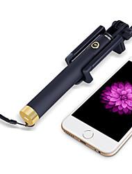 déclencheur à distance sans fil Bluetooth monopode Selfie bâton pour iPhone6 / 6plus, les S6 / Samsung (d'or)
