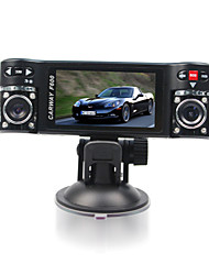 F600Car Dvr 2.7 Inch 120 Degree View Angle 4X Digital Zoom Dual Lens