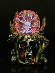 articles d'ameublement crâne résine moodle électrostatique balle à induction