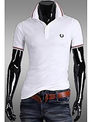 The leisure men's men's Short Sleeve Shirt Lapel code Paul POLO shirt