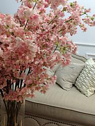 romantico rosa ciliegia grande piano per la casa decorativo floreale