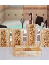 The Furutama Pattern Bathroom Ware 5 Sets