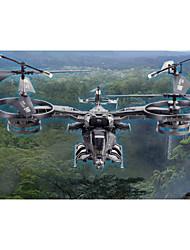 yd711 grande quatro canais avião-robô avatar mosca lado 2.4G controle remoto